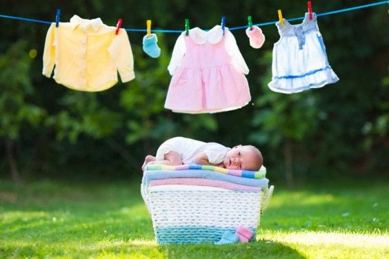 Great tips for washing and caring for organic baby clothes